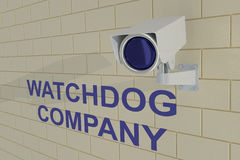 Watchdog Company concept Royalty Free Stock Photography