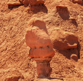 Watcher Goblin Hoodoo Goblin Valley State Park Utah Stock Photo