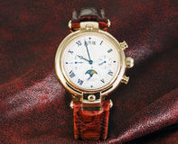 Watches chronograph Royalty Free Stock Images