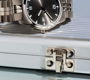 Watches, fragment Royalty Free Stock Photos