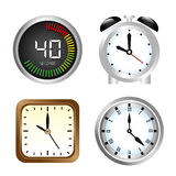 Watches icons Royalty Free Stock Photos
