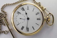 Watches made of yellow metal Royalty Free Stock Photo
