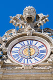 Watches on the roof of St. Peter Cathedral in. Rome, Italy Stock Image