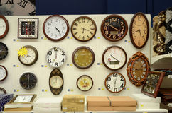 Watches for Sale in Supermarket. Hyperstar Supermarket, Emporium Mall, Lahore Pakistan Stock Photo
