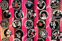 Watches vinyl Stock Photo