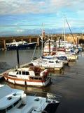 Watchet-Hafen stockfotos