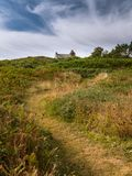 Watchhouse Corps de garde des Daules near Cancale royalty free stock photo
