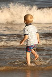 Watching irish tides Stock Images