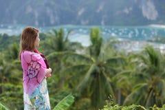 Watching ko phi phi landscape Stock Photography