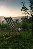 Watching the sunset in the mountains of Corsica - 2 Royalty Free Stock Photo