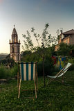 Watching the sunset in the mountains of Corsica - 1 Royalty Free Stock Image