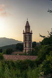 Watching the sunset in the mountains of Corsica - 3 Royalty Free Stock Photography