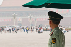Watching Tiananmen square Royalty Free Stock Photos