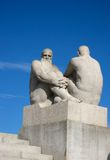 Watching - Vigeland Sculpture Park Royalty Free Stock Photos