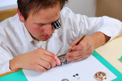 Watchmaker Royalty Free Stock Image