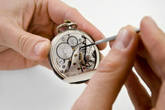 Pocket watch repair. Stock Images