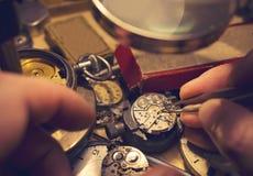 Watchmakers χειροτεχνία Στοκ Φωτογραφίες