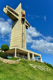 Watchman Cross in Ponce, Puerto Rico. It is a 100-foot-tall cross located atop Vigia Hill in Ponce, Puerto Rico Royalty Free Stock Photo