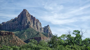 Watchman Mountain, Utah Stock Image