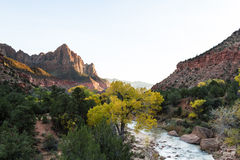 The Watchman at Zion Stock Photos
