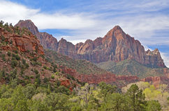 The Watchman, Zion National Park Stock Photo