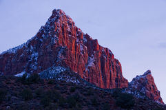 The Watchman-Zion National Park Stock Images
