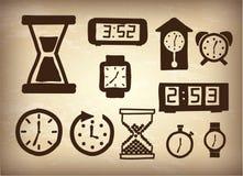Watchs ikony Fotografia Stock