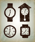 Watchs tipes Obrazy Stock