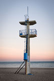 Watchtower. On a beach in Torremolinos, Spain Royalty Free Stock Image