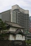 Watchtower av den imperialistiska slotten, Tokyo Royaltyfria Bilder