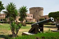 Watchtower av Saladin Citadel i Kairo Royaltyfri Bild