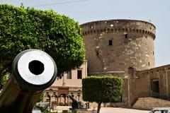 Watchtower av Saladin Citadel i Kairo Royaltyfria Foton