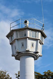 Watchtower on the Beach. Former watchtower on the Baltic Sea in Heiligendamm Royalty Free Stock Photo