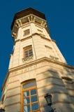 Watchtower in chisinau, moldova stock afbeeldingen
