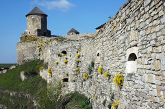 Watchtower and defensive walls Royalty Free Stock Photos