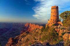 Watchtower at Desert View, Grand Canyon National Park, Arizona Stock Photography