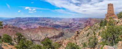 Beautiful Sunrise in Grand Canyon, USA. Panoramic view Stock Photo