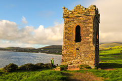The Watchtower Dingle. Norman era relic on Dingle Bay, Kerry, Ireland Royalty Free Stock Images