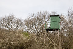 Watchtower in the eifel Royalty Free Stock Photo