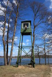 watchtower för druskininkaigrutaslithuania park Royaltyfria Bilder