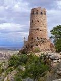 watchtower för sikt för arizona kanjonöken storslagen Royaltyfria Foton