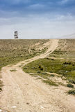 Watchtower för väghimmelblått Arkivfoto
