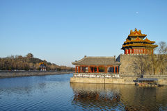 Watchtower of Forbidden City Royalty Free Stock Photo