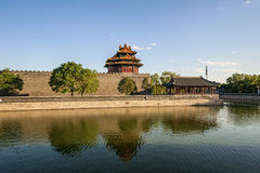 Watchtower of Forbidden City Stock Image