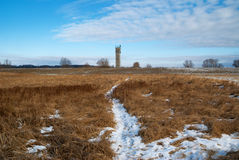 Watchtower at the former inner german Border Stock Photography