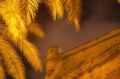 Watchtower. In Fortress Baluard in Palma de Mallorca, Spain Stock Images