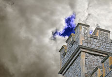 Watchtower fortress fort castle tower Royalty Free Stock Photography