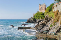 Watchtower of Genoa Nervi Stock Images
