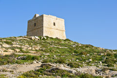 Watchtower on Gozo, Malta Royalty Free Stock Images