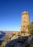 Watchtower at the Grand Canyon Stock Photography